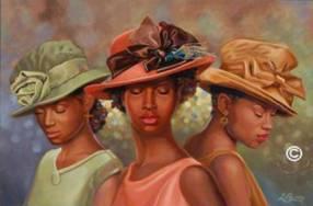 Black Church Women Clip Art 10
